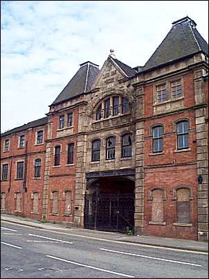 Listed Buildings in Stoke-on-Trent. The former Cliff Vale (Twyfords) Potteries.
