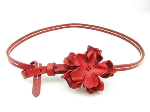 Corea del cinturón bien tridimensionales flores, zara las mujeres damas cinturón de cuero cinturones de cintura