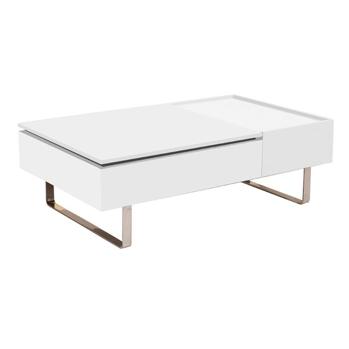 Reveal coffee table white