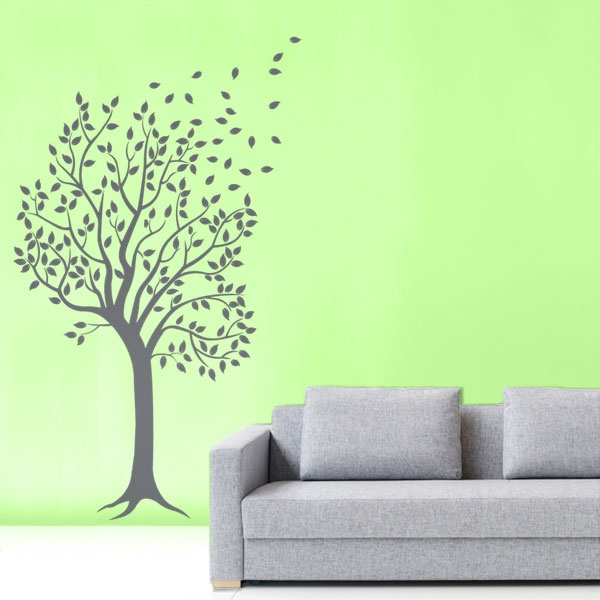 #autocollants #decalques #wall stickers #decals  Arbre dans le vent / Windy tree $59.95