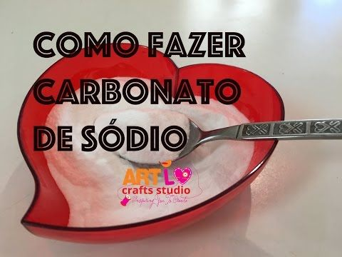 Como fazer Carbonato De Sodio - How To Make Sodium Carbonate - YouTube
