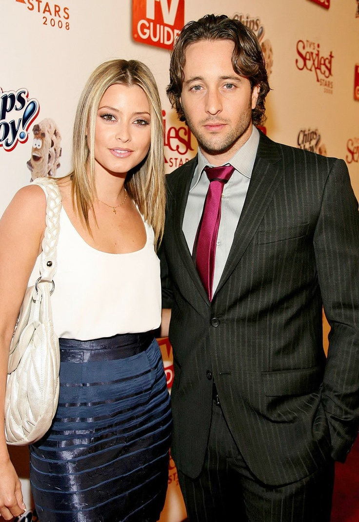 Alex O'Loughlin and Holly Valance at TV Guide's sexiest stars 2008
