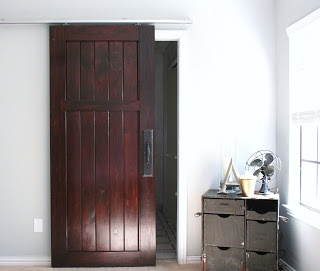 I M So Glad You Like The Door We First Put A Layer Of