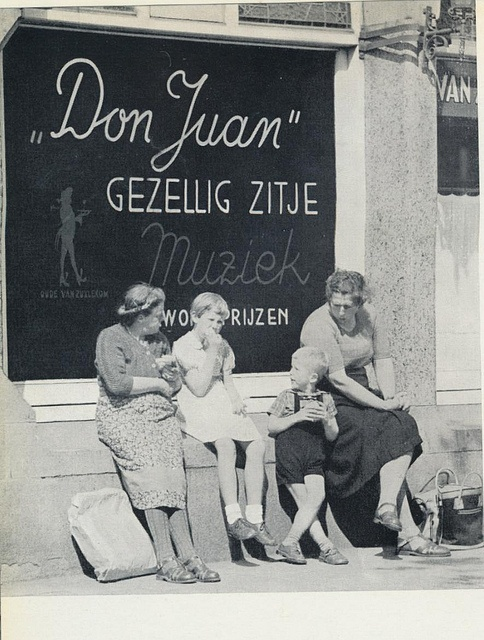 #Amsterdam jordaancafe 1957