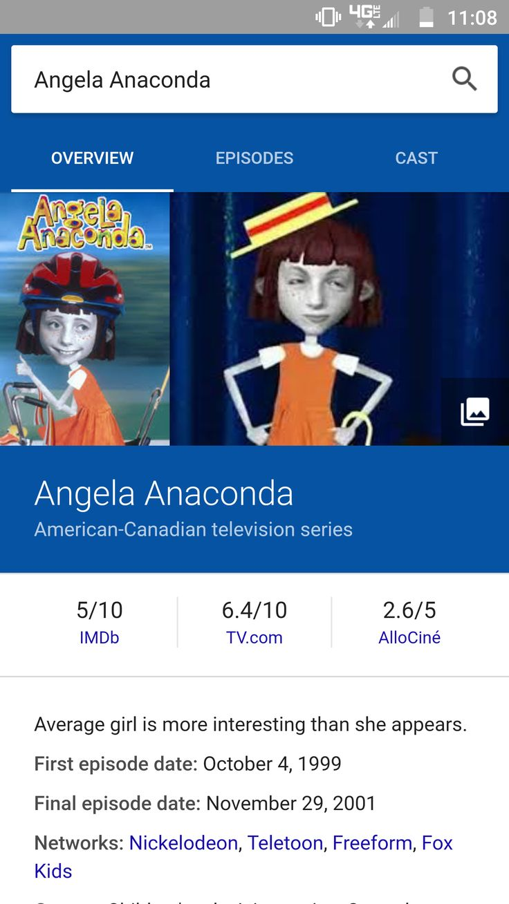 Does anyone remember angela anaconda? I thought this show was creepy as fuck!!