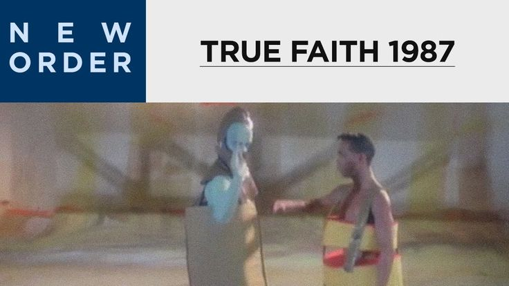 New Order - True Faith (1987) [OFFICIAL MUSIC VIDEO] from the Dept. of Weird Music Video Costumes of the 80s...