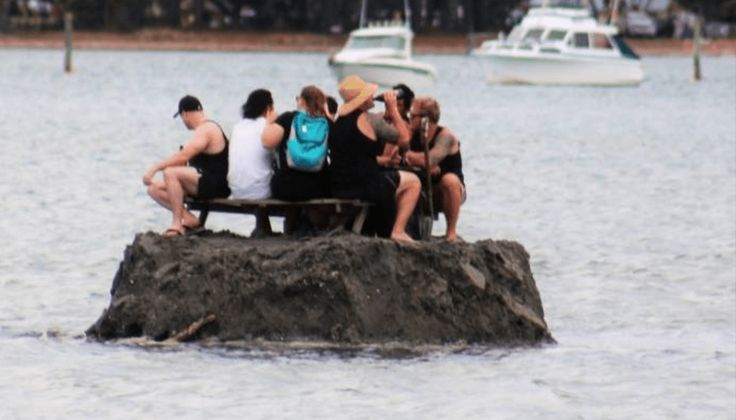 Brilliant Partyers Bypass Alcohol Ban By Building Own Island in International Waters