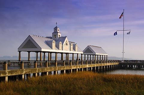 A very special pier that is just down from the Charleston Market ~ was there one year ago!