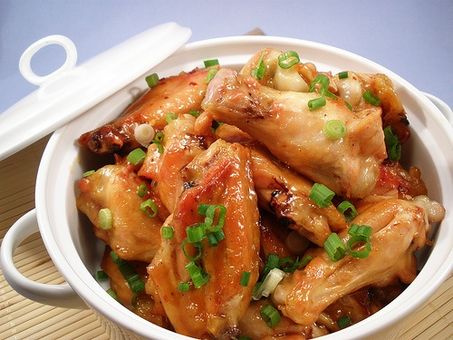 Polynesian Glazed Chicken Wings picture