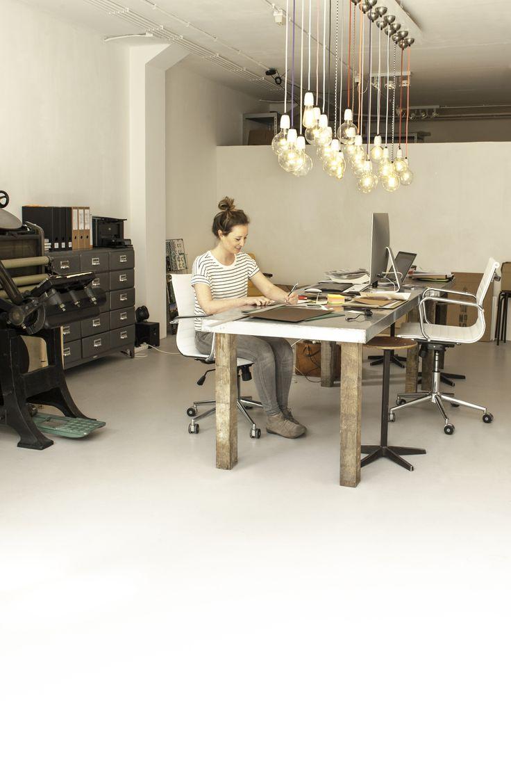 gietvloer kantoor ontwerpstudio #gietvloer