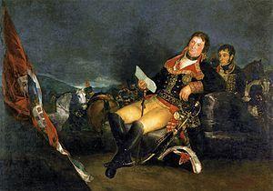 Manuel GODOY y Álvarez de Faria (Badajoz, 12 de mayo de 1767 - París, 4 de octubre de 1851) fue un noble y político español, favorito y primer ministro de Carlos IV entre 1792 y 1797, y nuevamente de 1801 a 1808. Fue duque de la Alcudia y de Sueca y príncipe de la Paz, por su negociación de la Paz de Basilea (1795)