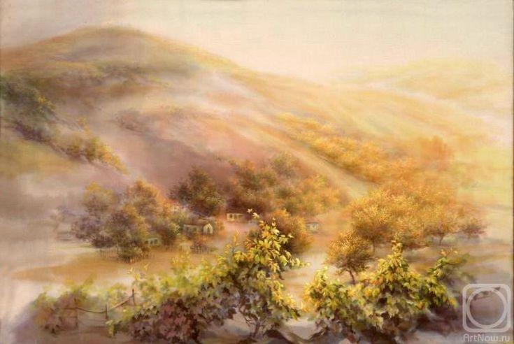 Годич Марина. Осенний виноградник