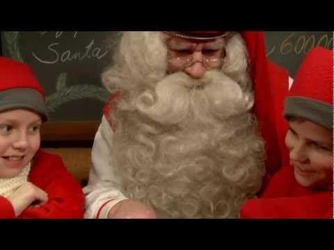 Adresse du Père Noël en Laponie