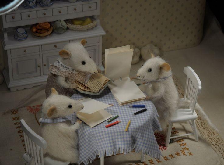 Stuffed animals by Natasha Fadeeva