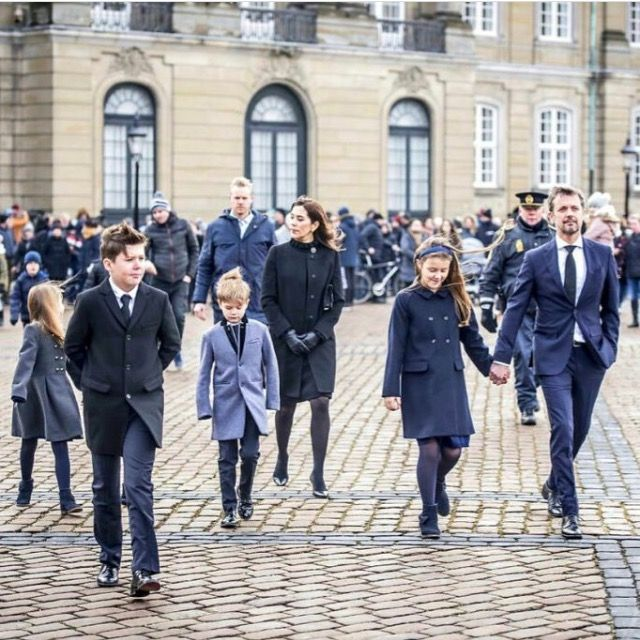 The Members Of Danish Royal Attended Prince Henrik S Funeral Danish Royal Family Denmark Royal Family Prince Frederik Of Denmark