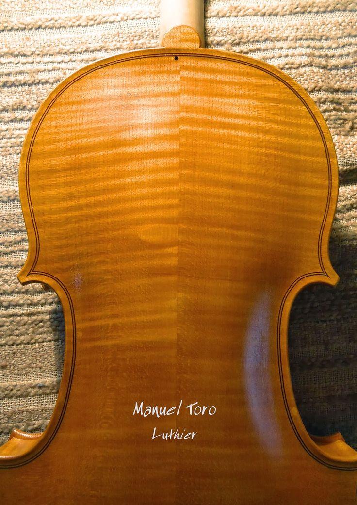 Manuel Toro Luthier: Violín Mesias año 2013 para Alfredo Cuevas
