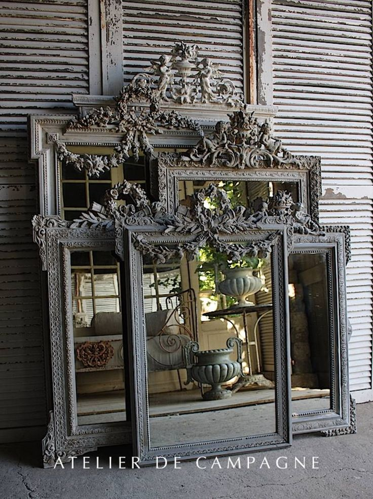 import of french antiques for home and garden, Mirror, Garden Elements, Chandeliers, Painted Furniture