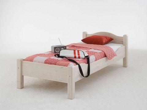 Szerokie łóżko sosnowe do sypialni Modern 2 200x200