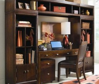 15 Extraordinary Wall Unit With Desk Pic Ideas