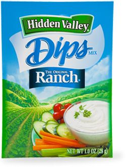 Hidden Valley<sup>®</sup> Original Ranch<sup>®</sup> Dips Mix