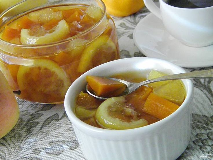 Варенье из тыквы с яблоком и лимоном - пошаговый рецепт с фото на Повар.ру