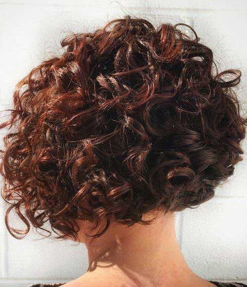 25+ Latest Bob Haircuts For Curly Hair | Bob Hairstyles 2015 - Short Hairstyles for Women