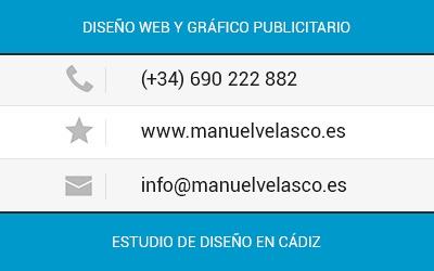 Manuel Velasco // Estudio de Diseño // We Speak Designs