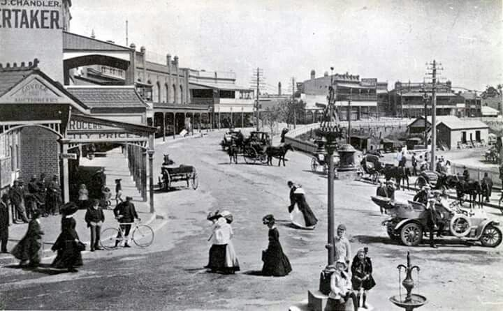 Katoomba in the Blue Mountains region of New South Wales in 1905.