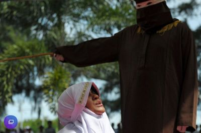 Indonesian Woman Flogged For Close Proximity With A Man