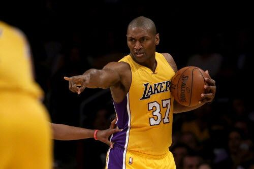News And Entertainment US: Lakers' Metta World Peace starts in what could be ...