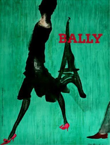 Lise Berset, 1 9 6 2, Bally.