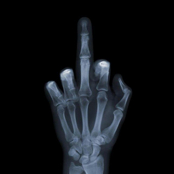 skeleton rude finger - Google Search
