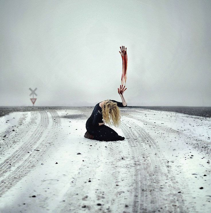Powerful and Surreal Self Portraits by 20-Year-Old Rachel Baran - Bored Panda