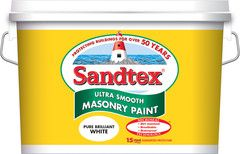 Find Sandtex Smooth Masonry Emulsion in your local Expert Hardware and online. Suitable for use on most sound, dry exterior masonry surfaces.