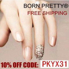 Código para un 10% de descuento en Born Pretty Store