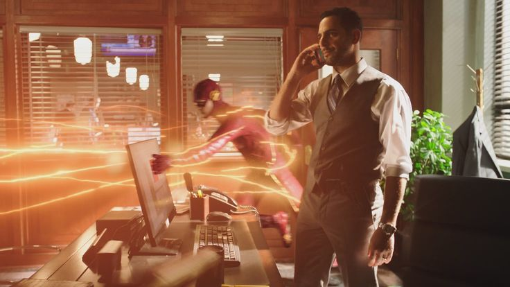 Arrow 5x11- The Flash and Captain Singh help Oliver (MINI CROSSOVER) - YouTube
