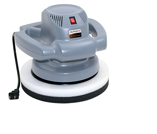"""Polisher with Truck, Tractor and Auto Supplies. 10"""" Orbital, 120V; includes foam wax, polish applicator pad, and microfiber buffing pad http://www.farmersmarketonline.com/truck.htm"""