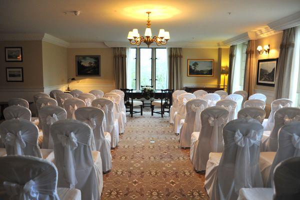 Civil ceremony in Solis Lough Eske Castle, Donegal