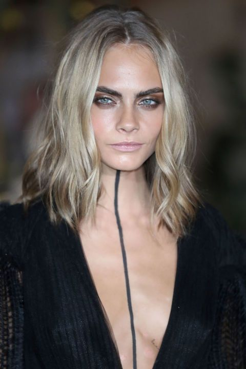 The 10 most popular haircuts for spring 2017: Cara Delevingne's thinned out long lob
