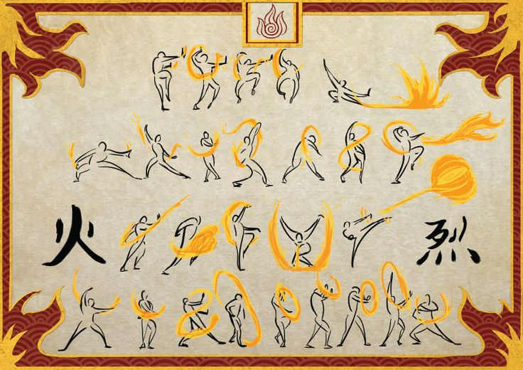 Ever wanted to be a bender?  Well, bending scrolls are bringing you that one step closer!  Based off personal research into the martial arts behind the animated series, each type of scroll is a variant of a martial art form that has been digitally painted and printed in high quality.    Flame...