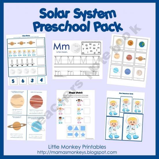 preschool lesson plan solar system - photo #21