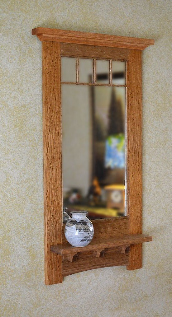 Craftsman Decorative Mirror by NewMissionWorkshop on Etsy https://www.etsy.com/listing/89464920/craftsman-decorative-mirror