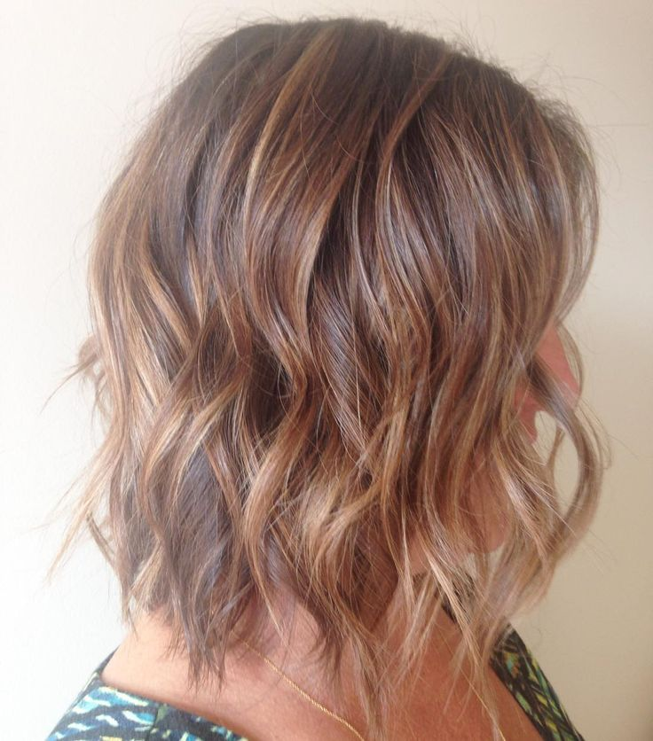 """#highlights #texture #waves #chopchop #newcolor #newcut #hairbykaila #kailawardhair #originalmineral"""