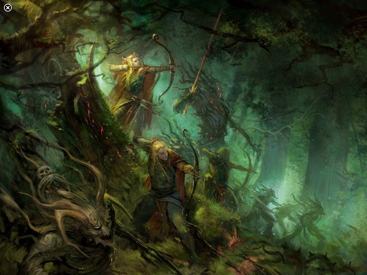 wood elves wallpaper - Google Search