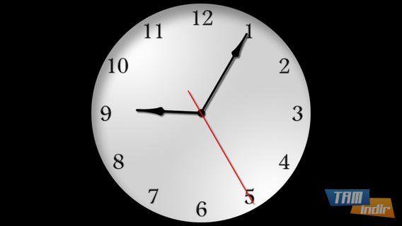 iPhone ve iPad için ücretsiz saat uygulaması The Clocks!  - Burdan: http://www.tamindir.com/the-clocks/ios/