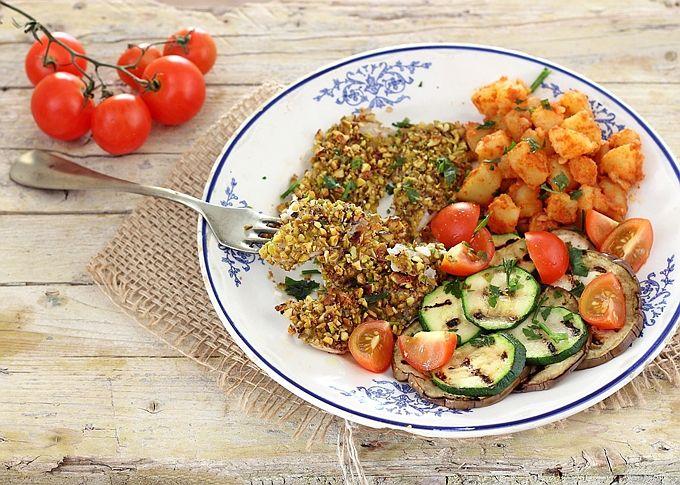 platessa e verdure alla crudaiola