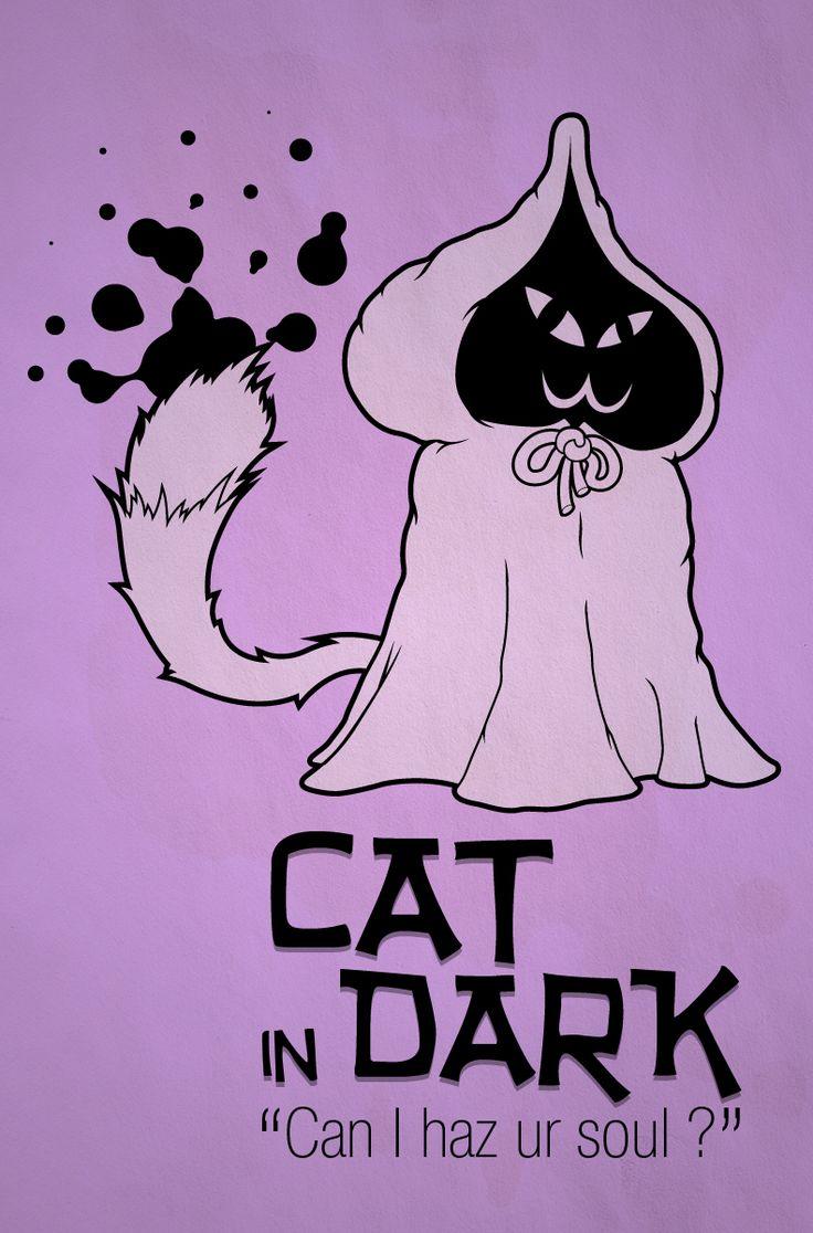 Cat in Dark
