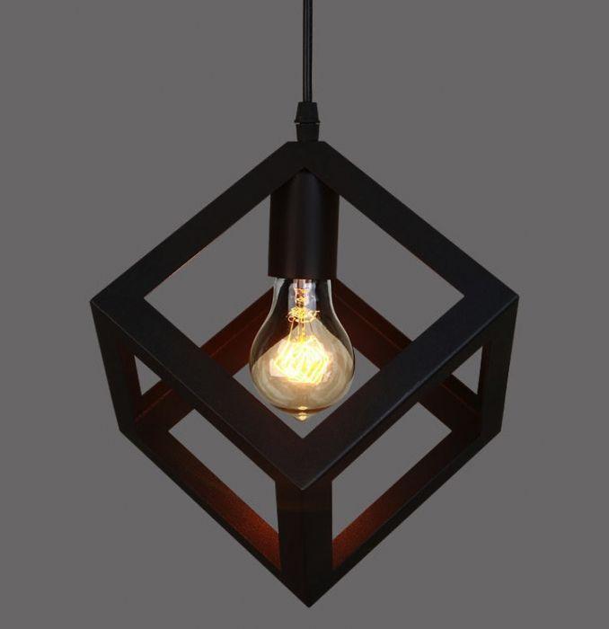 Подвесной светильник Loft Polyedra <b>Cube</b> | Светильники офис ...