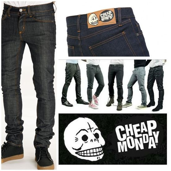 The perfect jeans by Cheap Monday. Available on www.lazybaboon.be