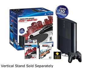 Sony Playstation 3 250GB Bundle w/Need for Speed Most Wanted & Burnout Pardise